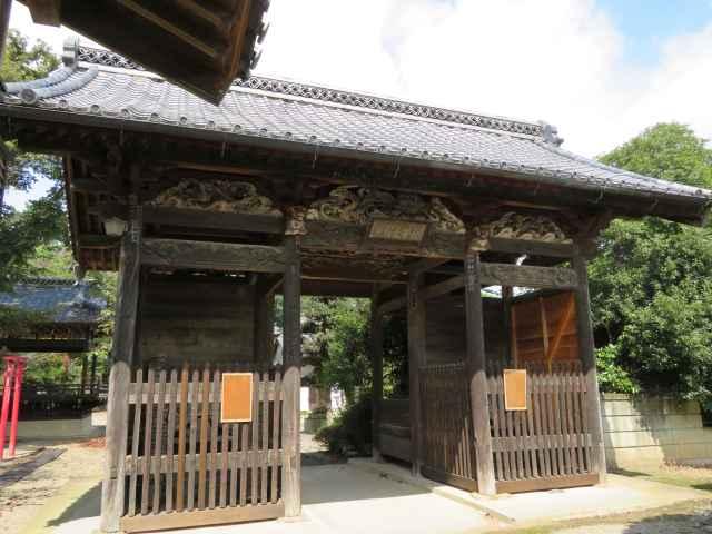 秋葉神社神門