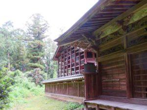 大川島神社社殿