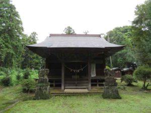 大川島神社拝殿