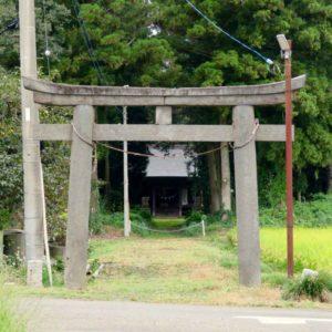 大川島神社鳥居