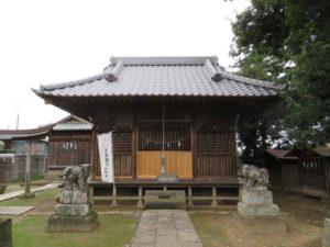 東箭神社拝殿