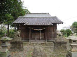 中里神社拝殿