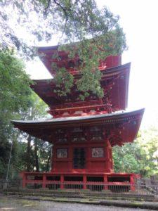 高勝寺三重塔