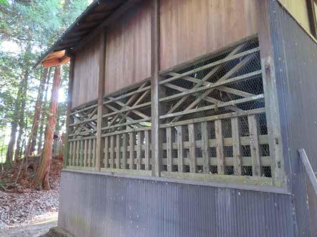 篠塚稲荷神社御本殿覆屋