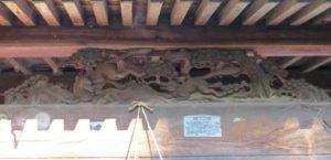 篠塚稲荷神社拝殿向拝