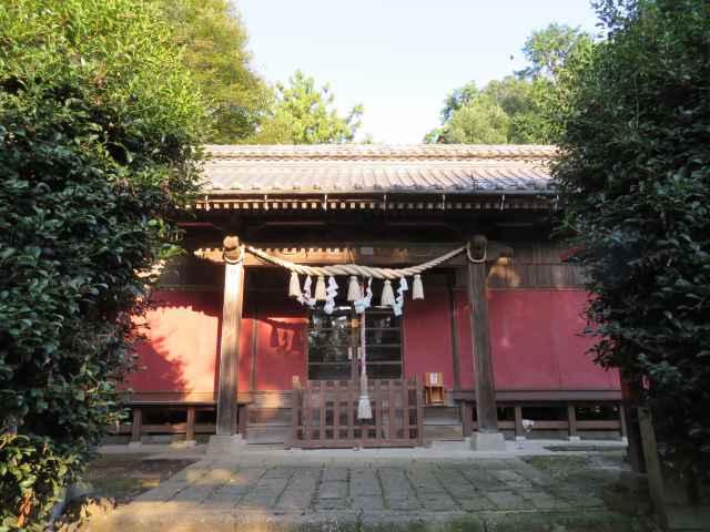 篠塚稲荷神社拝殿