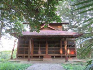 摩利支天社拝殿
