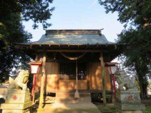 星宮神社拝殿