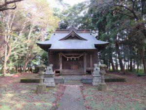 延島神社拝殿