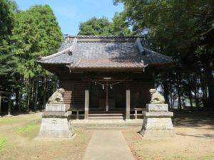 上梁八幡神社拝殿