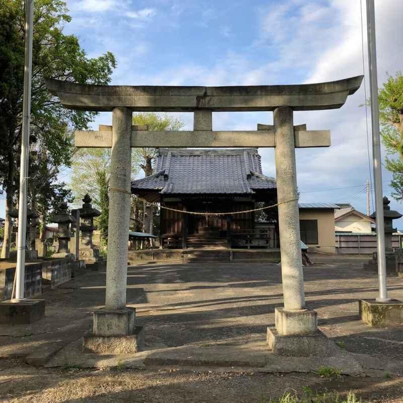 小針日枝神社鳥居