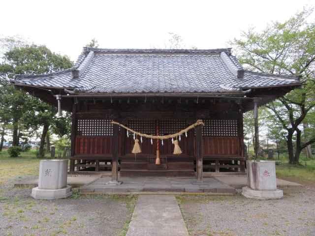 須影八幡神社拝殿