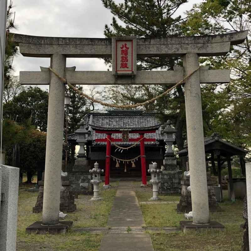 須影八幡神社鳥居