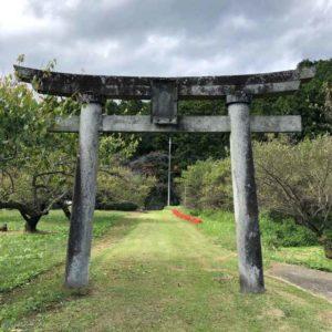 月波神社鳥居