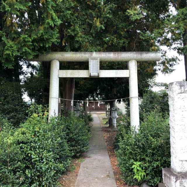 川崎白髪神社鳥居