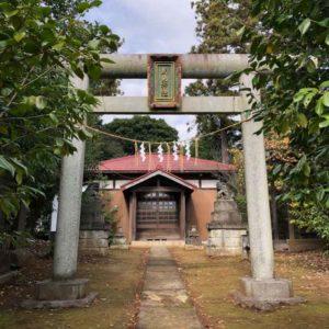 鳥見神社鳥居