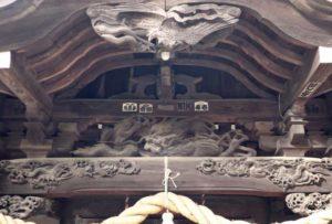 鈴木稲荷神社向拝