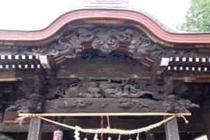 小比企稲荷神社拝殿向拝