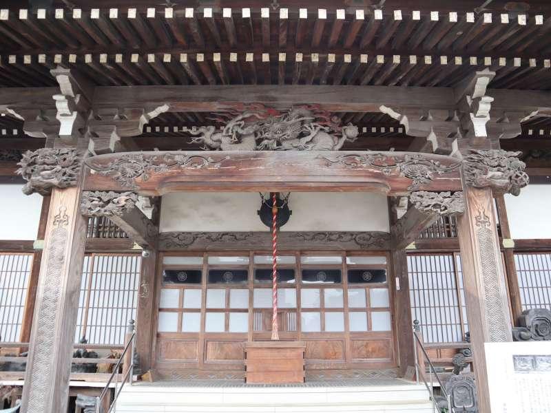 東福寺向拝
