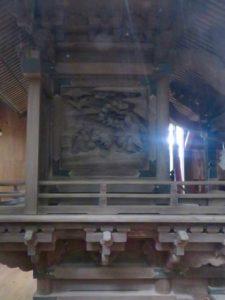 長須八幡香取神社御本殿