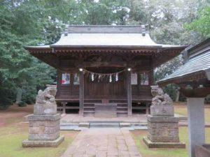 長須八幡香取神社拝殿