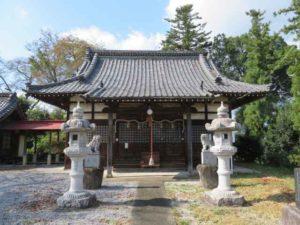 郷見神社拝殿