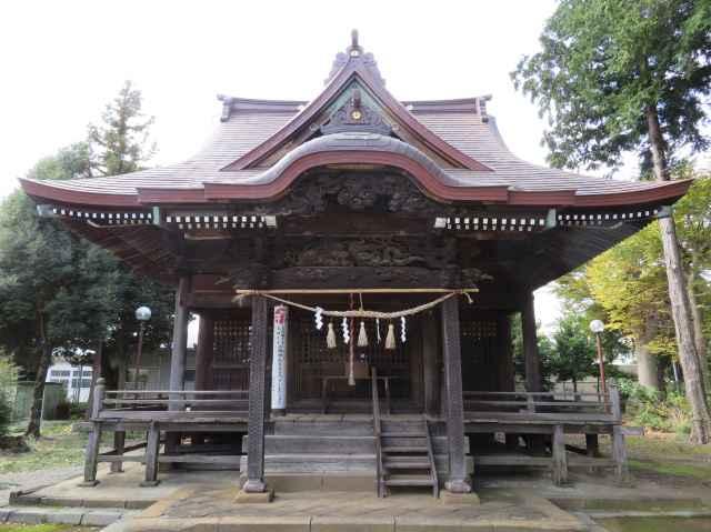 小比企稲荷神社拝殿