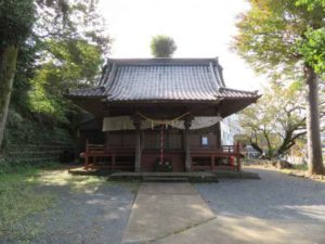 高宰神社拝殿