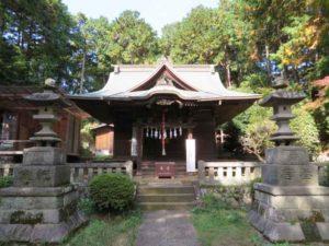 堀口天満天神社拝殿