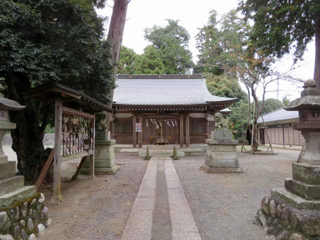 小谷田氷川神社拝殿