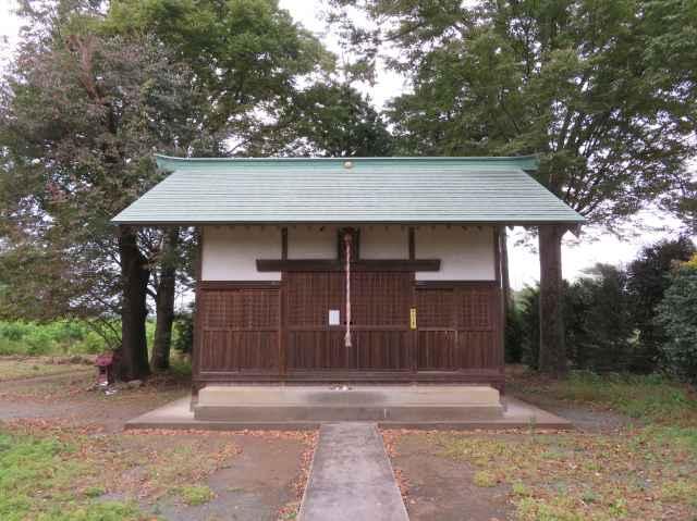 川崎白髪神社拝殿