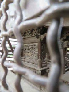舎人諏訪神社御本殿