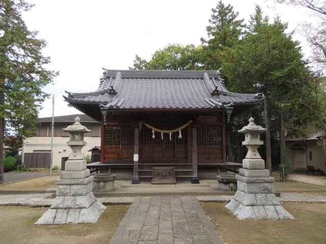 吉町日枝神社拝殿