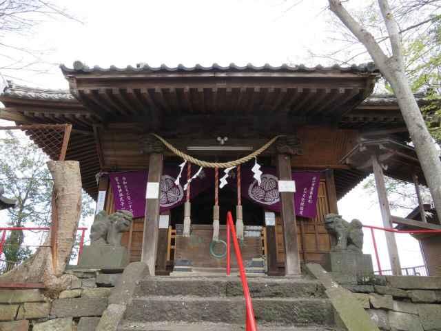 富士嶽神社拝殿