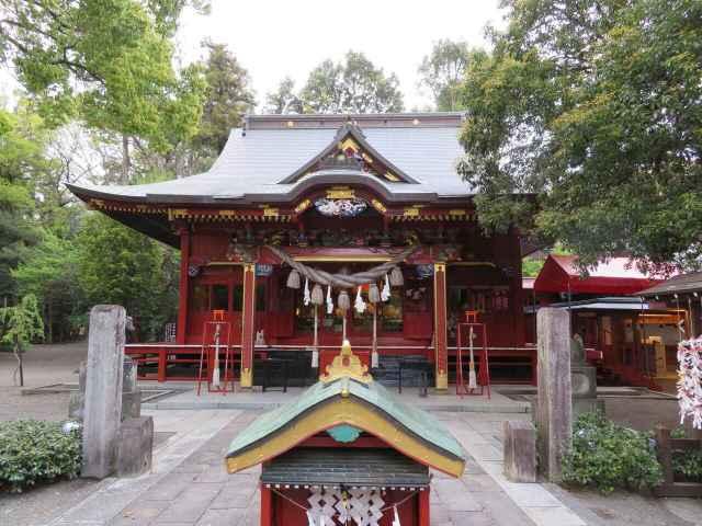 冠稲荷神社拝殿