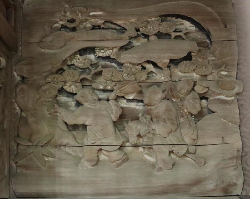 唐子の木馬遊び
