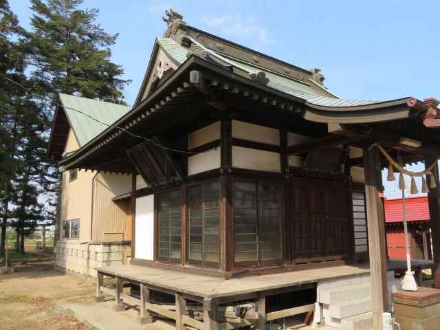 平塚赤城神社社殿