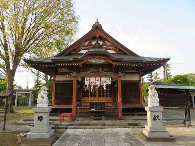 太田春日神社拝殿
