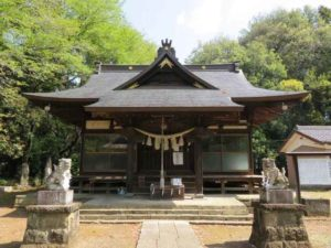 長柄神社拝殿