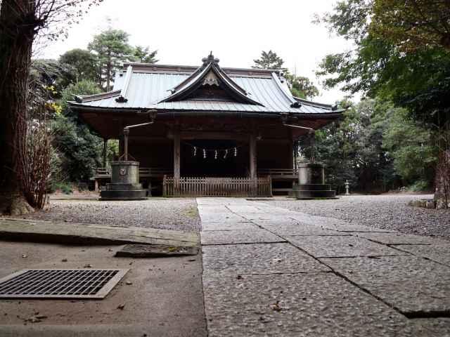 府馬愛宕神社拝殿