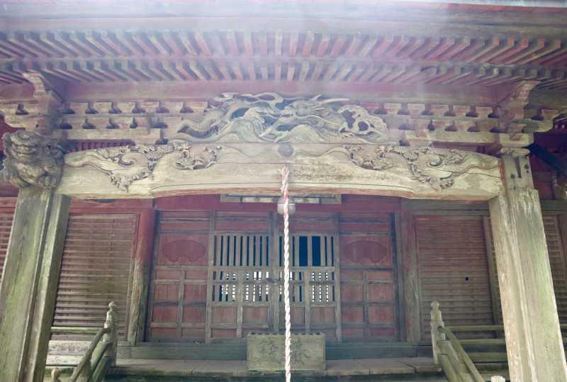 飯高神社拝殿向拝