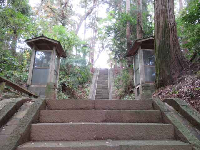 府馬愛宕神社参道階段