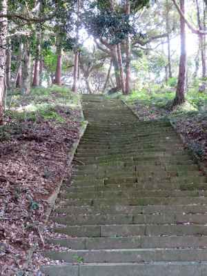 飯高神社参道階段