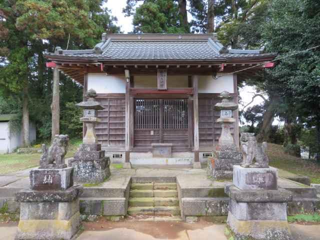 稲荷大神拝殿
