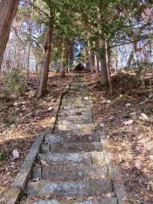 愛宕神社参道階段