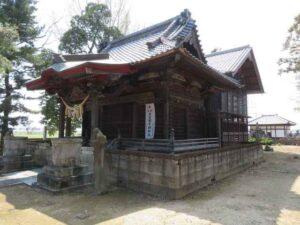 横瀬神社社殿