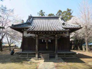 岡廼宮神社拝殿