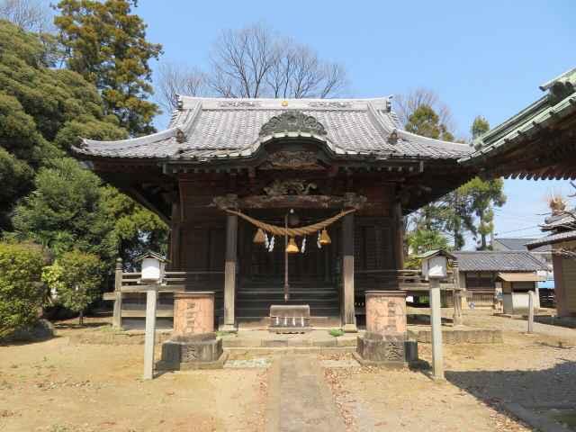 大寄八幡神社拝殿