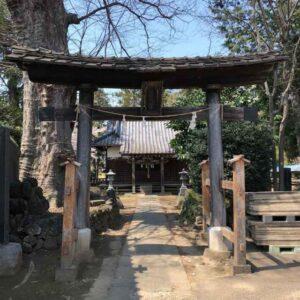 岡廼宮神社鳥居