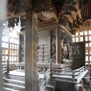 北向神社御本殿